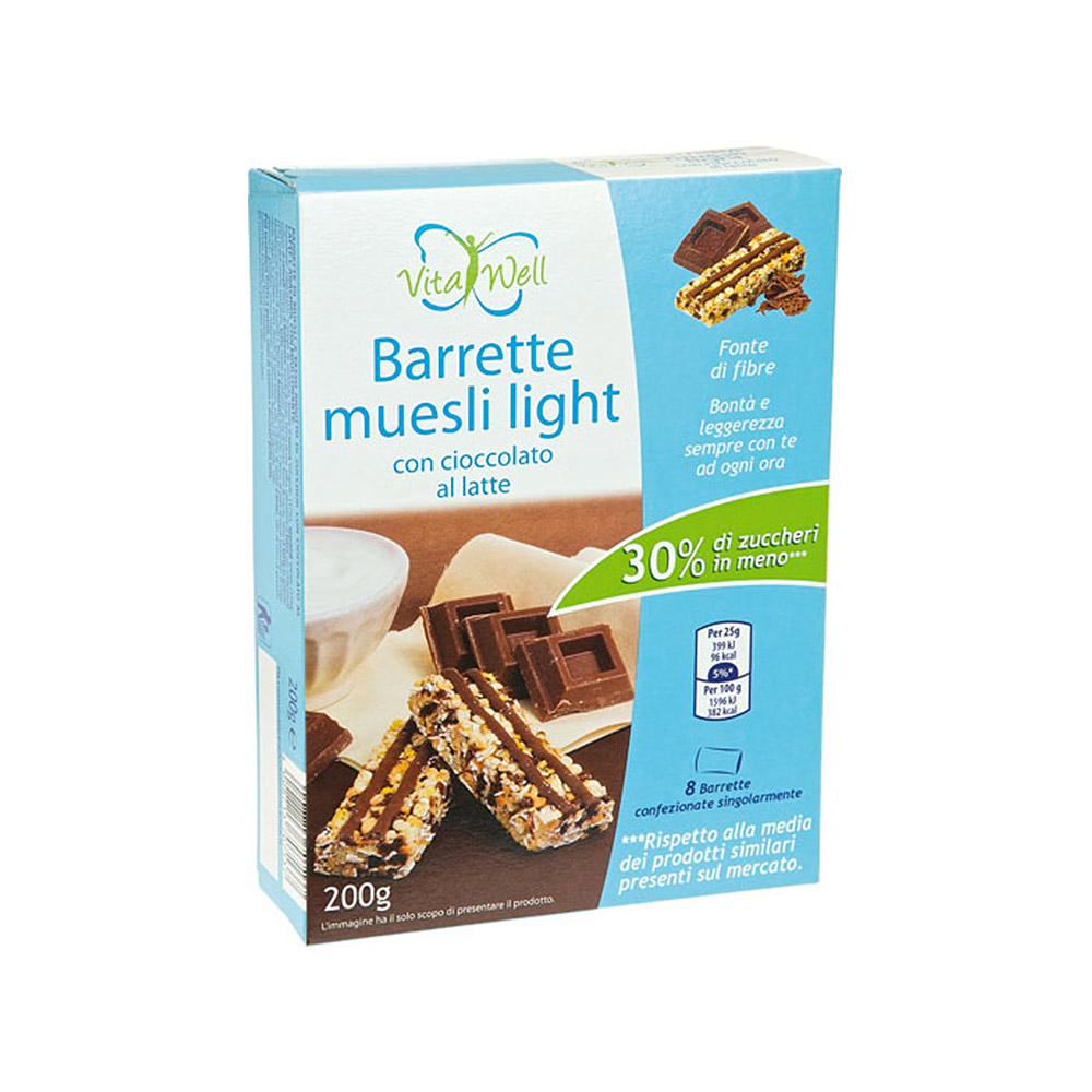 Barrette Muesli Light