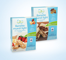 Barrette Muesli VitaWell Light di iN's