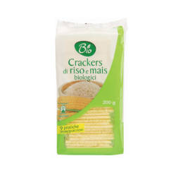 Crackers di Riso e Mais BIO